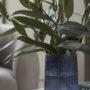 gåvokort exempel blue vase with lillies
