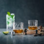 Orrefors Double Old Fashion glas