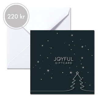 Joyful giftcard 220 kr Nixie